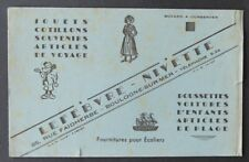 Buvard LEFEBVRE-NIVETTE Jouet  Boulogne-sur-Mer bleu Mickey WD Walt Disney 2