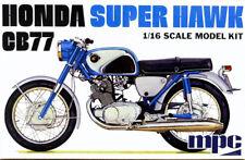 Honda Super Hawk CB77 Bike Motorrad 1:16 MPC Model Kit Bausatz MPC898