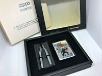 ZIPPO Limited Edition BRUCE LEE Dragon 25th Anniversary Lighter w Nunchaku Set