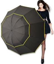 Kalolary 62 Inch Extra Large Golf Umbrella Windproof Oversize, Double Canopy for