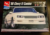 '86 Chevy El Camino AMT Ertl 1:25 Scale Model Kit 30074 2001