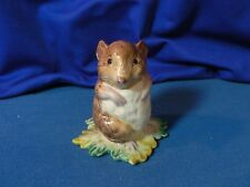 "BESWICK Beatrix Potter"" TIMMIE WILLIE FROM JOHNNY TOWN-MOUSE BP1a gold circle """
