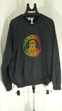 90s Vintage San Francisco California Regae trolley XXL black windbreaker