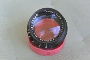 Vintage lens 6,3/21cm Carl Zeiss Jena Tessar Red T