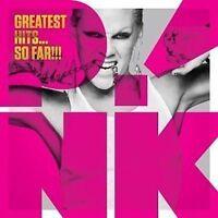 Greatest Hits So Far P!nk Pink Sealed CD Bonus Tracks