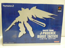 PANZER FRAME J-PHOENIX BURST TACTICS LIMITED EDITION PS2 NTSC JAP NEW