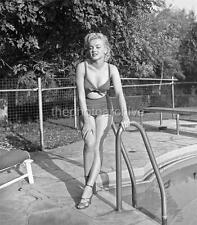 Sexy MARILYN MONROE 1950 UNPUBLISHED CANDID Portrait OVERSIZE 11x14 PHOTO RA7