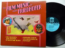 The film music of HUGO FRIEDHOFER soundtrack LP