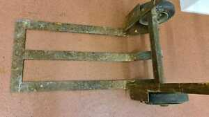 sack truck goods trolley MADE IN ENGLAND long base lifting platform VULCAN POOLE