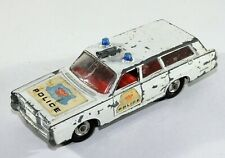 Matchbox Lesney King size Models  Mercury Diecast Police car K-23