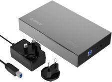 "ORICO Aluminum 3.5"" USB 3.0 SATA HDD/SSD Hard Drive Enclosure Caddy Case 10TB"