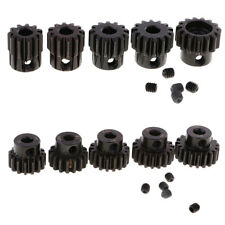 M1 5mm 11T-19T Pinion Motor Gear Replacement for 1/8 Scale RC Car Model Part