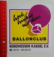 Aufkleber/Sticker: Ballonclub Nordhessen Kassel e.V. (07051611)