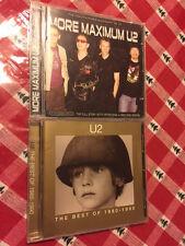 U2 The Best Of 1980-1990 CD BONUS More Maximum Unauthorized Biography Interviews