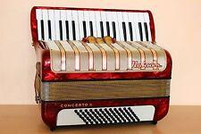 Accordion Hohner Concerto II 72 bass Akkordeon Fisarmonica + Case Free Shipping!