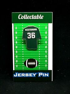 Philadelphia Eagles Brian Westbrook jersey lapel pin-Classic team Collectible