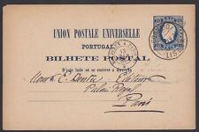 PORTUGAL, 1886. Post Card H&G 7, Lisbon - Paris