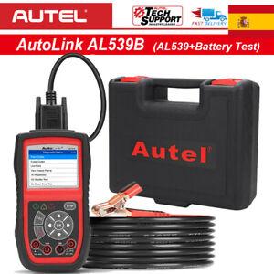 Diagnosis multimarca OBDII con multímetro Test Bateria AUTEL AL539B ORIGINAL