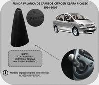 Para CITROEN XSARA PICASSO (1996-2006) Funda Palanca de Cambios Piel Auténtica