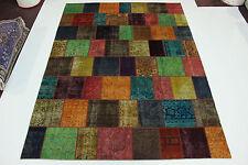en exclusivité patchwork Délavé Used Look PERSAN TAPIS d'Orient 4,00 X 3,00