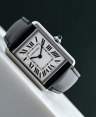 NWT Cartier Tank Must SolarBeat Large