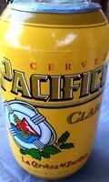 "PACIFICO Clara Beer Inflatable Can NEW  Yellow Gold Cerveza 28"" Mexico XL Hangs"