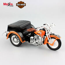 1:18 scale vintage Harley 1947 Servi Car motorcycle sidecar die cast model toy