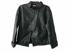 Veste en cuir noir BY ZOE  - économisez 300 euros
