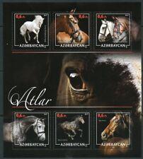 AZERBAIJAN  2018  HORSES  SHEET MINT NEVER HINGED