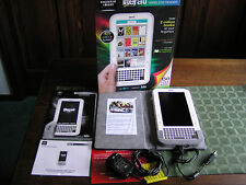 SHARPER IMAGE Literati Wireless Ebook Reader Full Color Screen White w/GrayCase