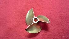 "3 blade brass propeller prop 434 for 3/16"" shaft RC boat"