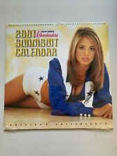 2001 Dallas Cowboys Cheerleaders Swimsuit Calendar - Brand New - UNOPENED