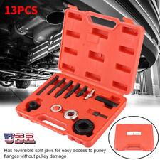 13PCS Power Steering Pump Remover Alternator AC Pulley Puller & Installer Tool
