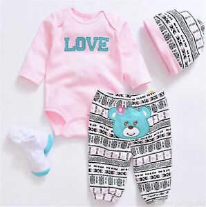 Clothes for Reborn Baby Dolls Girls,Fit for 20-22 inches Dolls, Clothes Gift Set