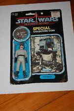 AT-ST Driver-Star Wars-POTF Power of the Force-MOC-Vintage-Coin