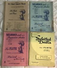Lot of 4 Music Books for Flute