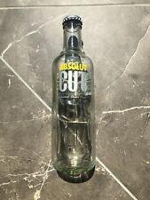 Absolut Vodka Cut Gelb Leer