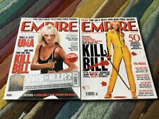 Empire Magazine Collection Featuring The Kill Bill Movies, 2 issues Uma Thurman