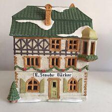 Dept 56 Alpine Village Series #6540-4 E. Staubr Backer
