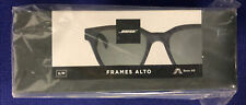 Bose Frames Alto Bluetooth Audio Sunglasses - Black Brand New