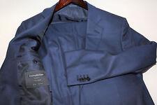 Ermenegildo Zegna SU MISURA 15 Mill Mill 15 Blue Suit Size 40 Short