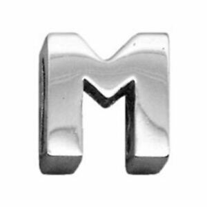 """3/8"""" (10mm) Chrome Plated Charms M"""