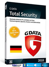 G Data Total Security 2018 Vollversion 3 PC & Handbuch (PDF) Download NEU