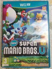 New Super Mario Bros. U - jeu Nintendo WIIU Wii U / Speel Spiel Game