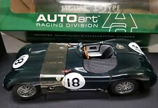 AUTOART Racing Division 1/18 Jaguar C-Type Lemans 1953 Racing Green 85387 NEW!