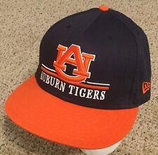 Auburn University Tigers NCAA NEW ERA 9Fifty Hat Blue SNAPBACK Baseball Cap NEW!