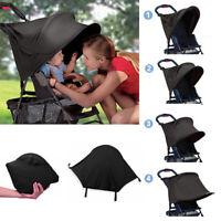 Universal Baby Stroller Sun Visor Cap Sunshade Canopy Cover Pram Accessories Kit