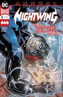Nightwing Annual #2 DC COMICS 2019 Dan Jurgens COVER A 1ST PRINT DICK GRAYSON