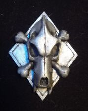 Space Wolf skull and bones pin