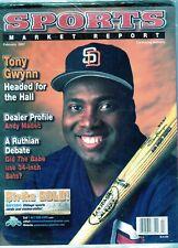 FEBRUARY 2007 TONY GWYNN COVER SMR PSA SPORTS MARKET REPORT PRICE GUIDE  MINT
